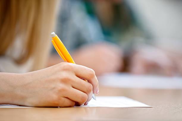 - hand Schreiben – Foto