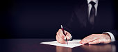 istock Writing Legal Document 814388552