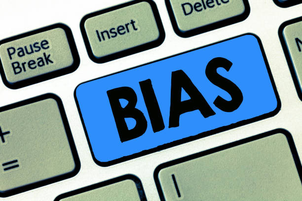 Writing note showing Bias. Business photo showcasing Prejudice in favor of and against one thing Considered to be Unfair Writing note showing Bias. Business photo showcasing Prejudice in favor of and against one thing Considered to be Unfair. unbalanced stock pictures, royalty-free photos & images