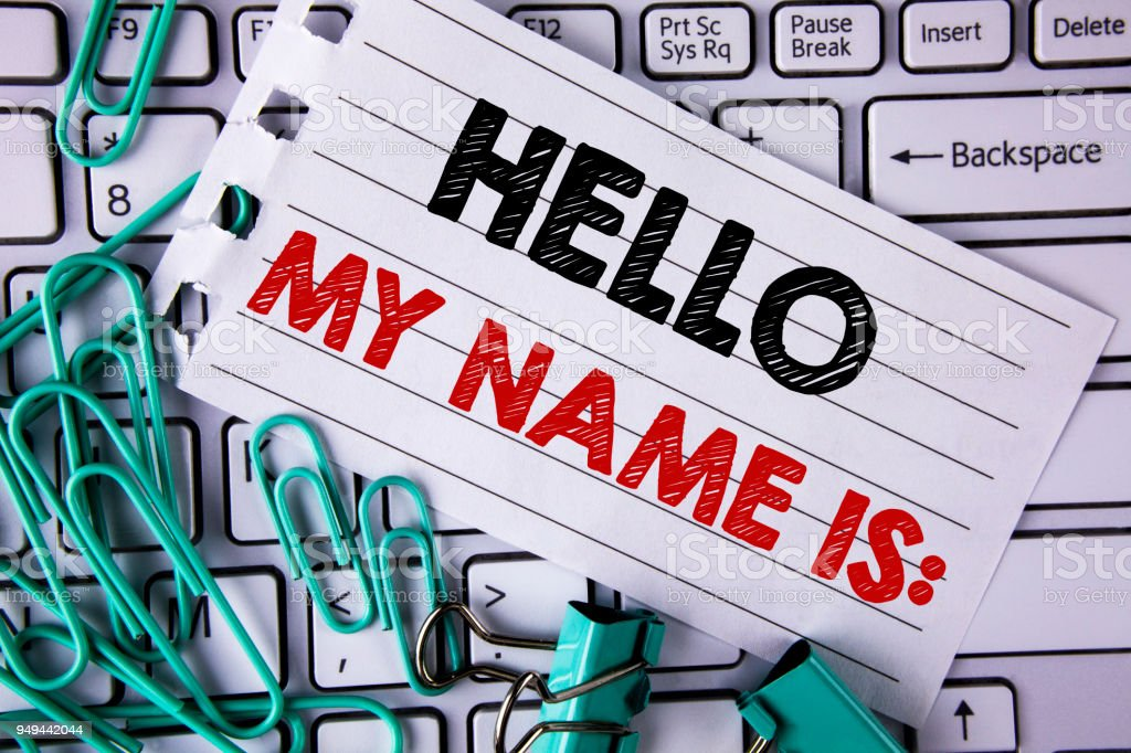 Essay about name