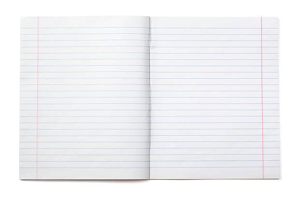pisanie w notesie z papier w linie (xxxl - notes zdjęcia i obrazy z banku zdjęć