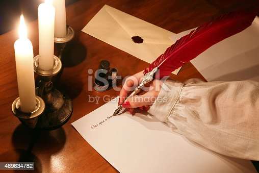 istock Writing novel 469634782