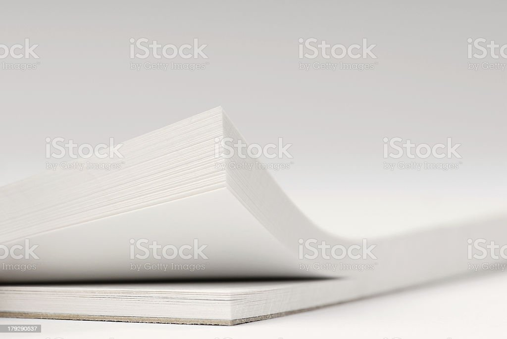 writing pad background royalty-free stock photo