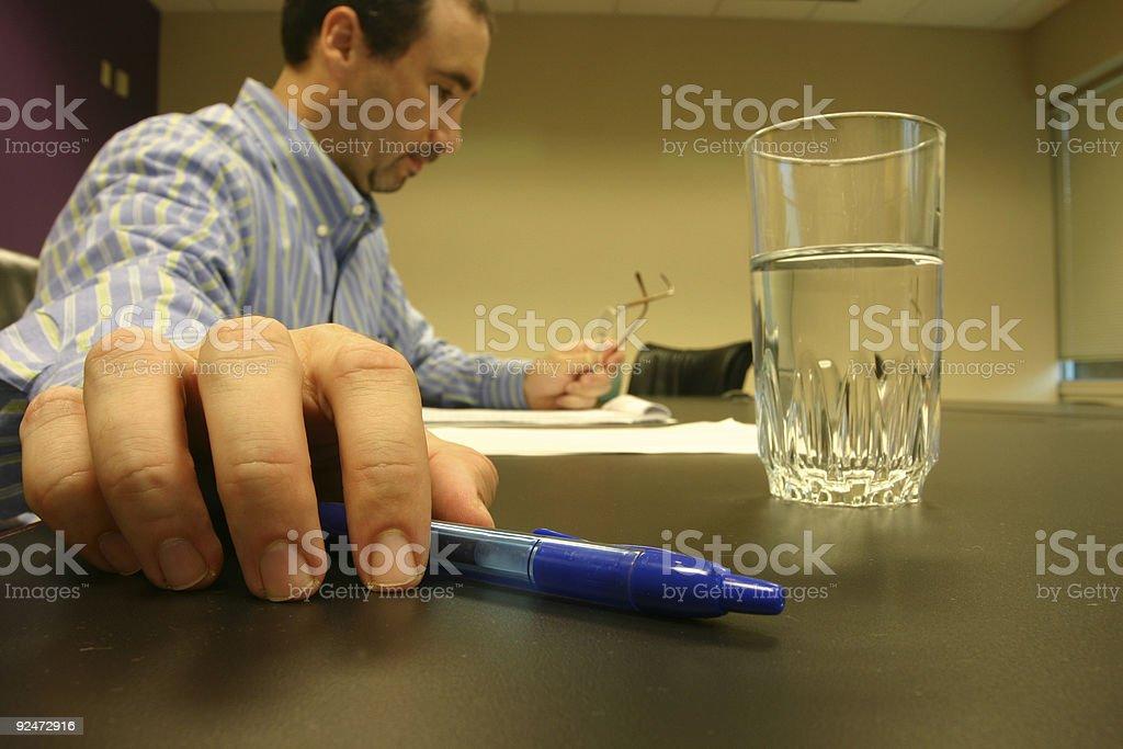Writing royalty-free stock photo