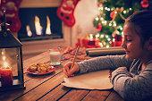 istock Writing to Santa Claus 615750140