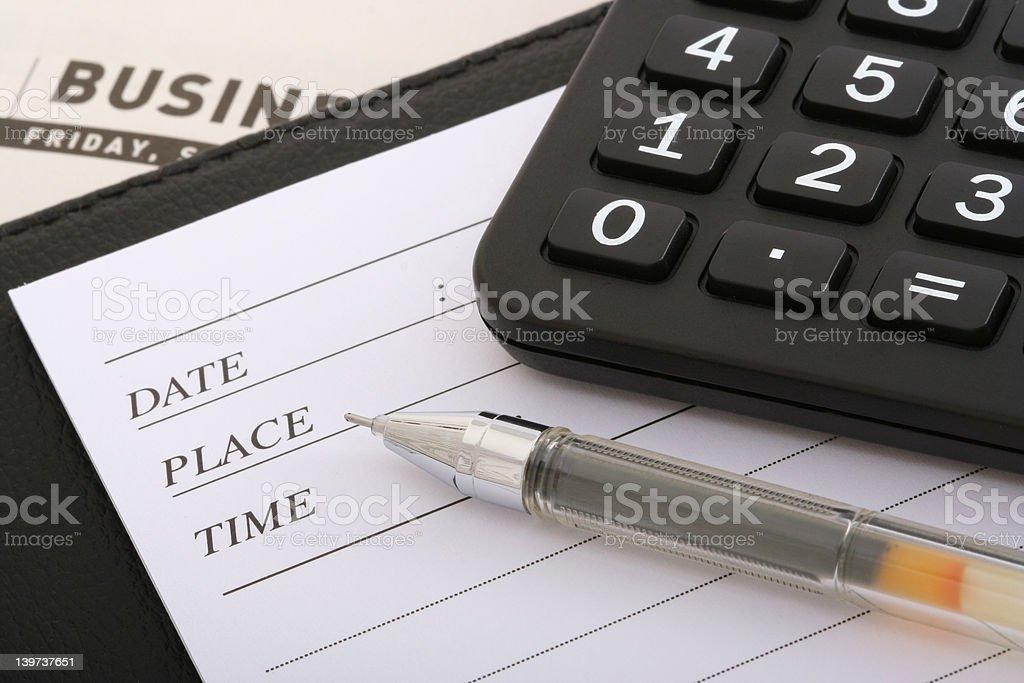 Writing Utensils royalty-free stock photo