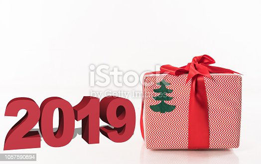 1055666268 istock photo Written 2019 with three dimensional 1057590894