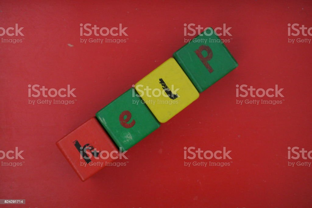 written help stock photo