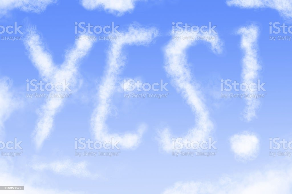 Written in the sky #3 royalty-free stock photo