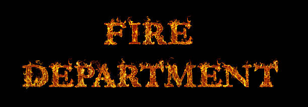 Royalty free fire brigade written with burning letters in flame fire brigade written with burning letters in flame pictures images and stock photos altavistaventures Images