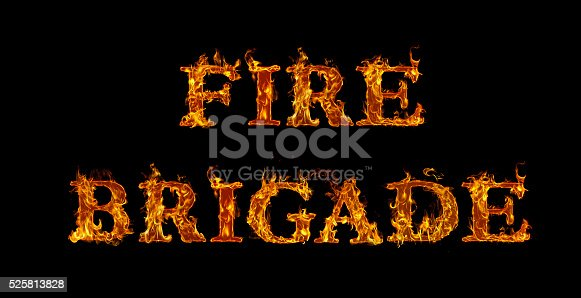 Fire brigade written with burning letters in flame stock photo fire brigade written with burning letters in flame stock photo more pictures of abstract istock thecheapjerseys Images