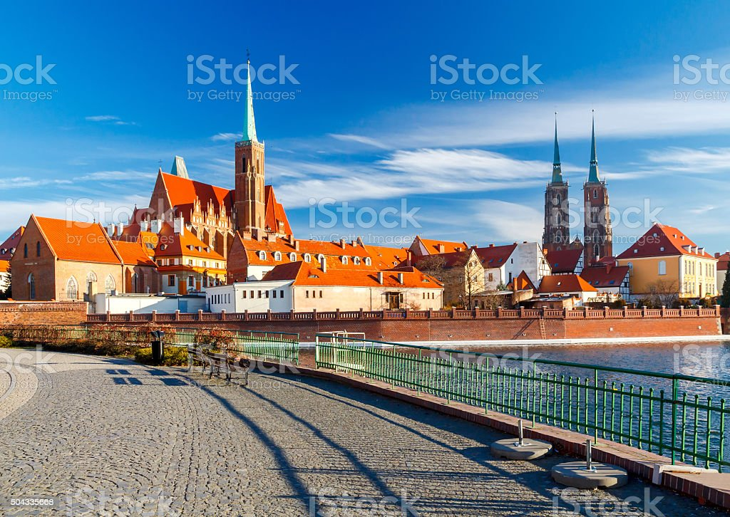 Wroclaw. Cathedral of St. John stock photo