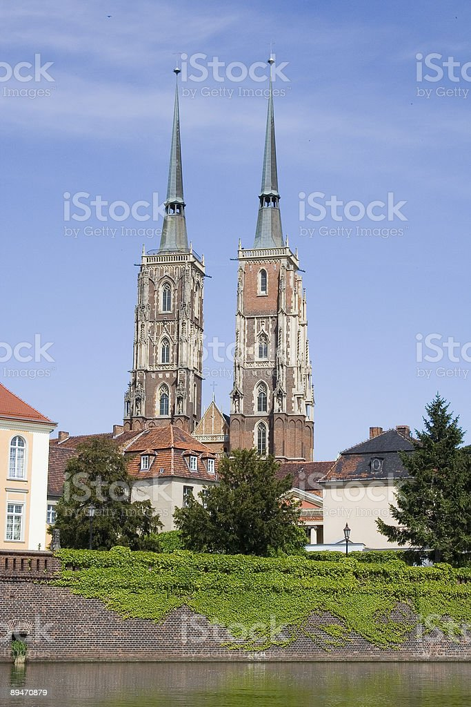 Wroclaw - Cathedral royalty-free stock photo