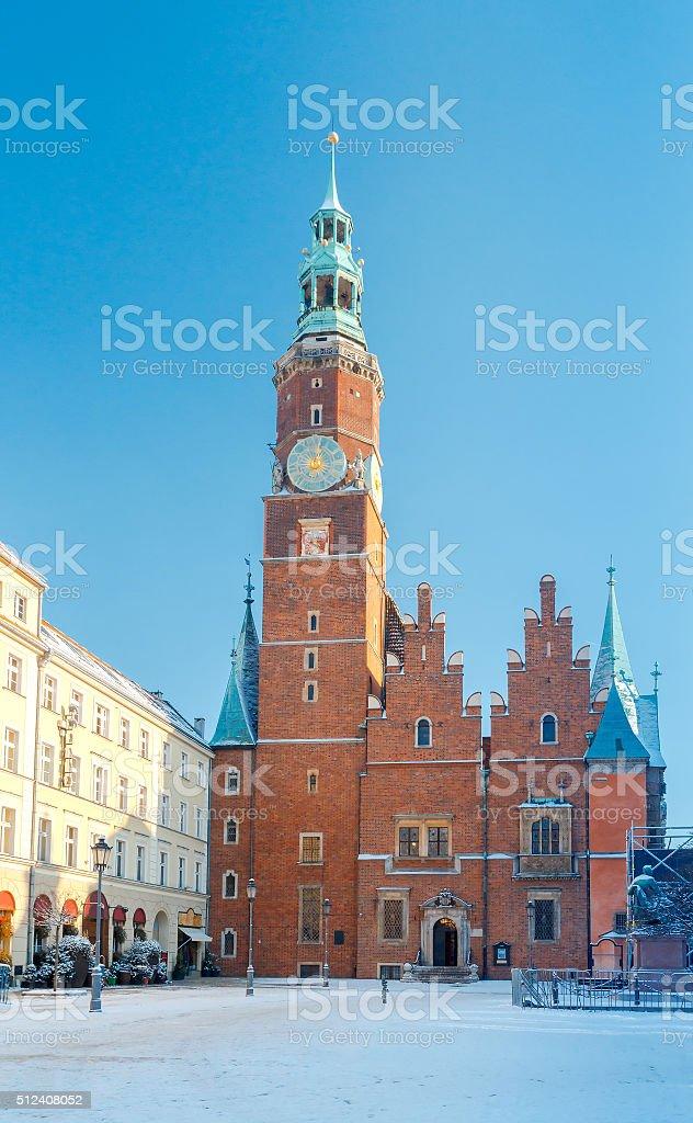 Wroclaw. Market Square stock photo