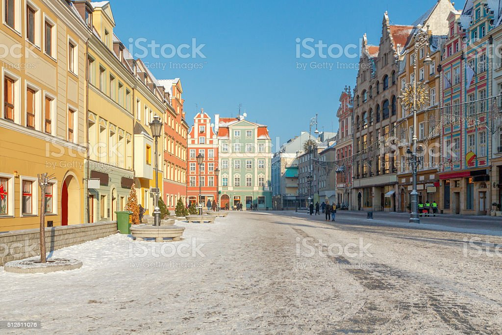 Wroclaw. Market Square. stock photo