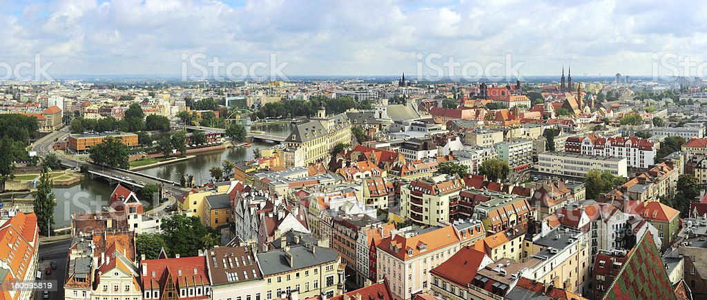Wroclaw royalty-free stock photo
