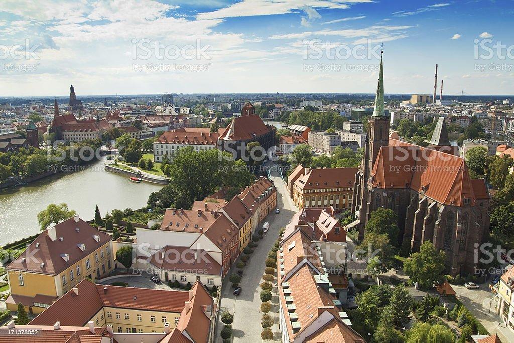 Wroclaw stock photo
