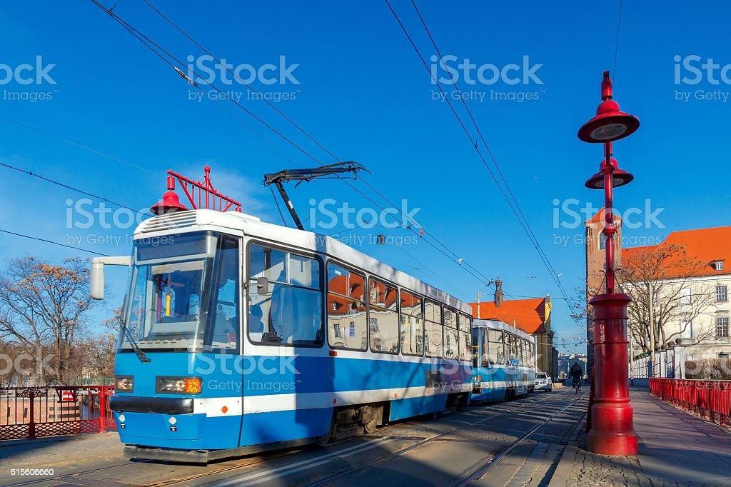 Wroclaw. Sandy Bridge stock photo