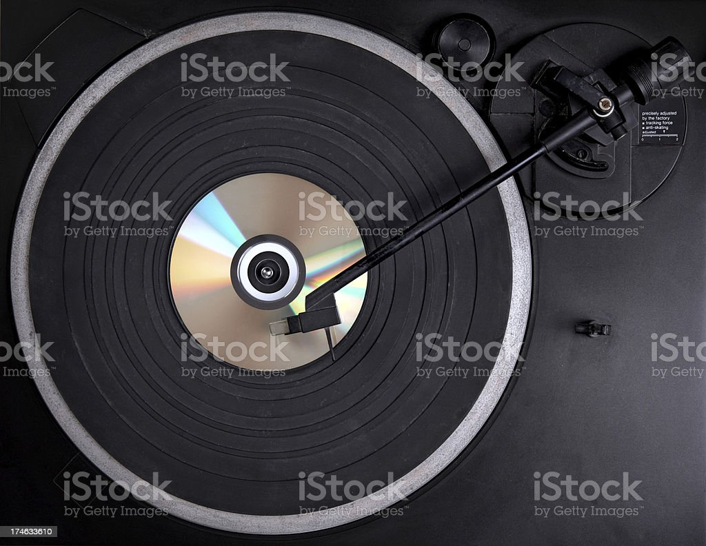 wrong cd player stock photo