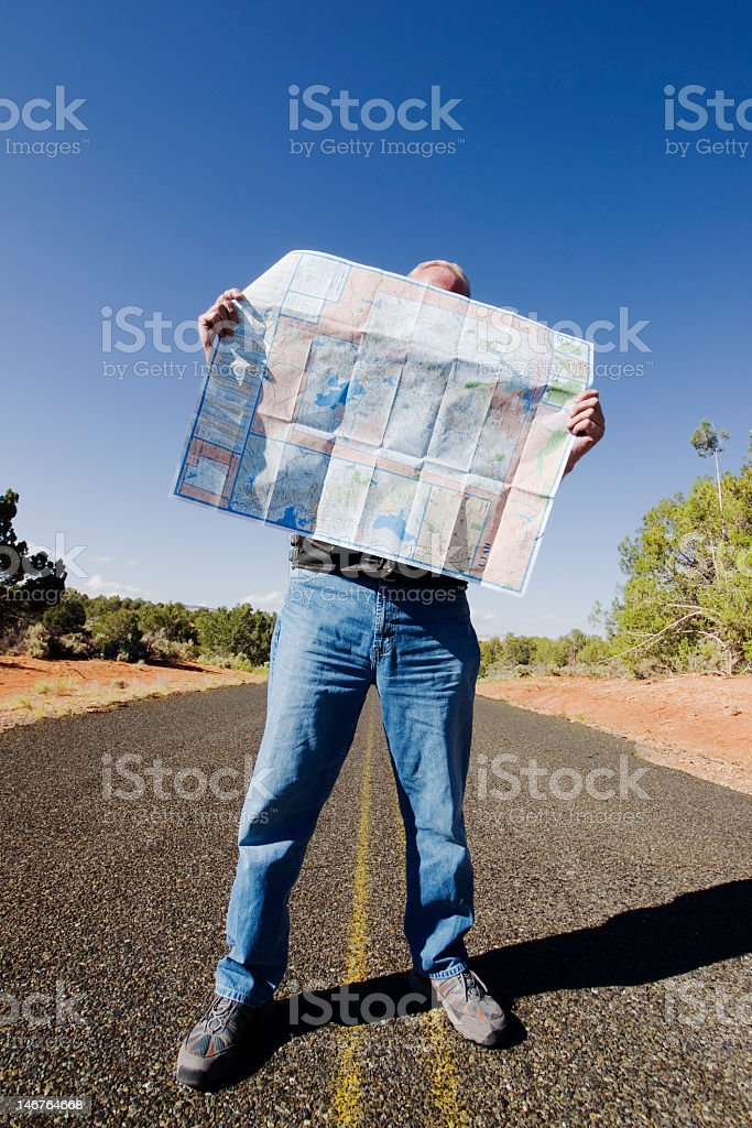Wrong Direction royalty-free stock photo