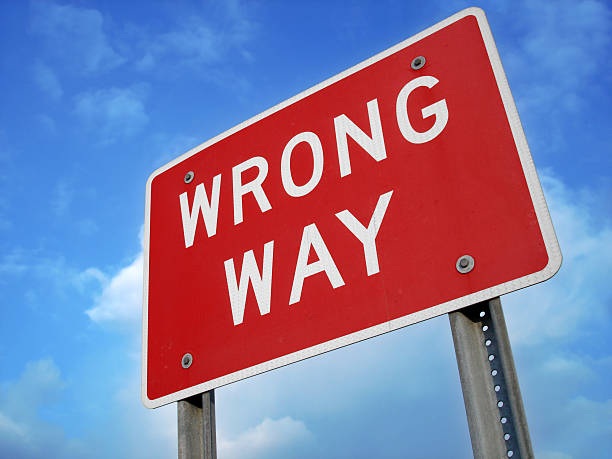 royalty free wrong way pictures images and stock photos istock