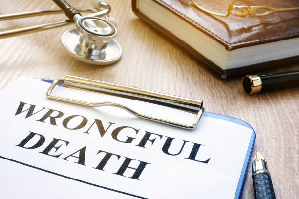 wrongful death form and stethoscope on a table. - death stock pictures, royalty-free photos & images