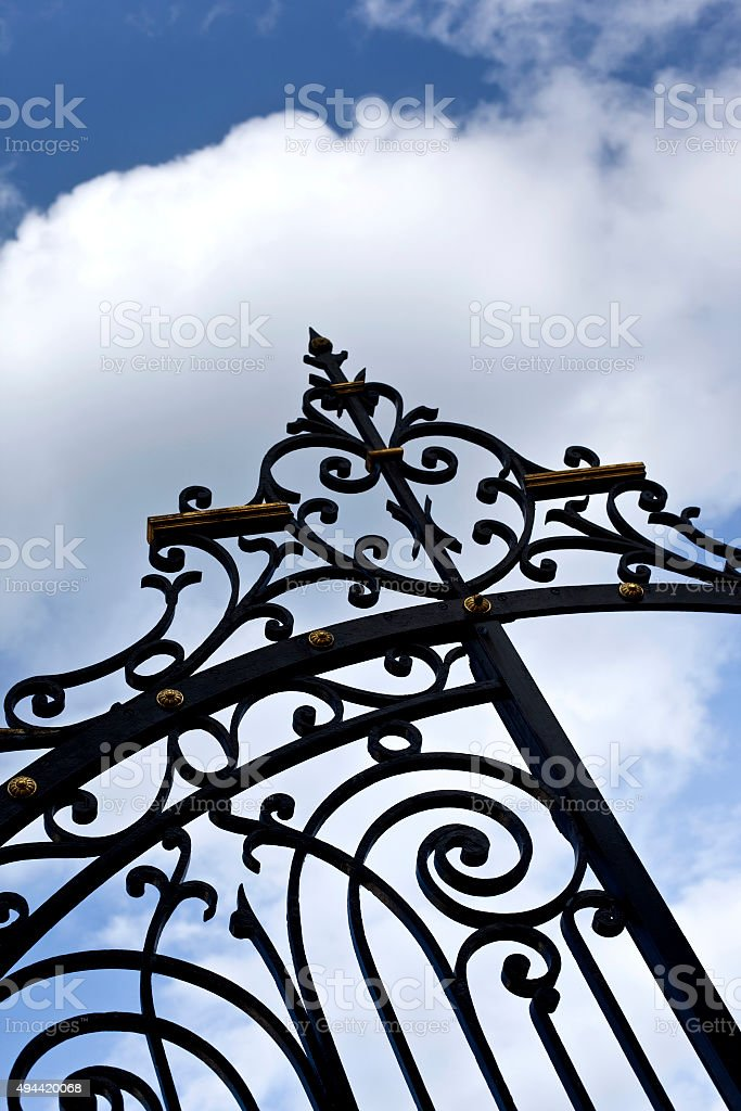 Porte en fer forgé - Photo
