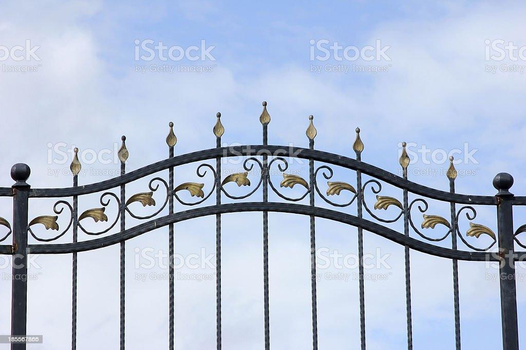 Wrought Iron royalty-free stock photo