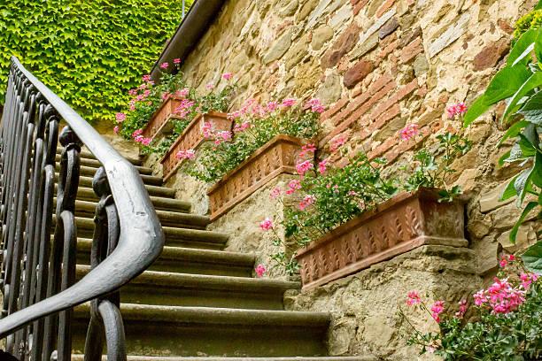 Schmiedeeiserne Treppe – Foto