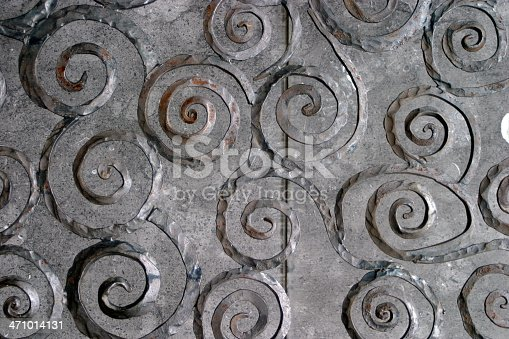 Wrought Iron Swirls on a European castle gate taken with a Canon EOS 10D.