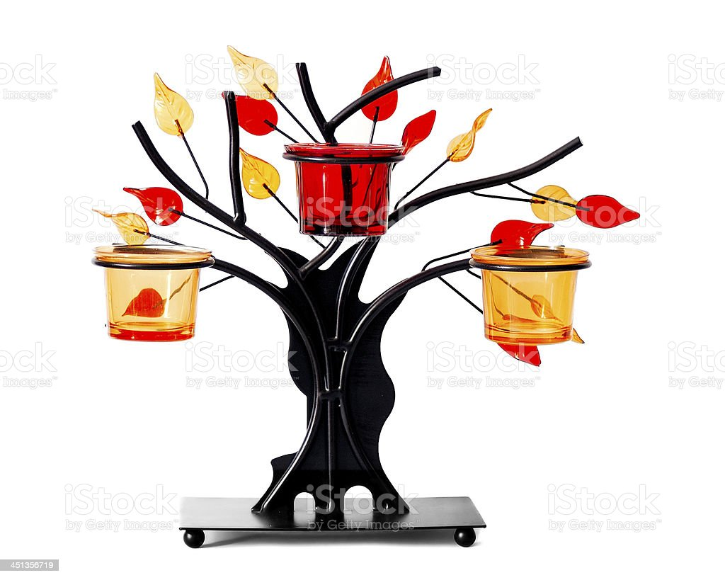 Wrought Iron Tree royalty-free stock photo