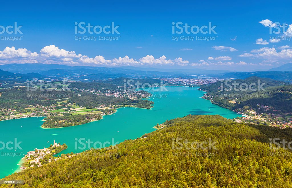 Wörthersee stock photo