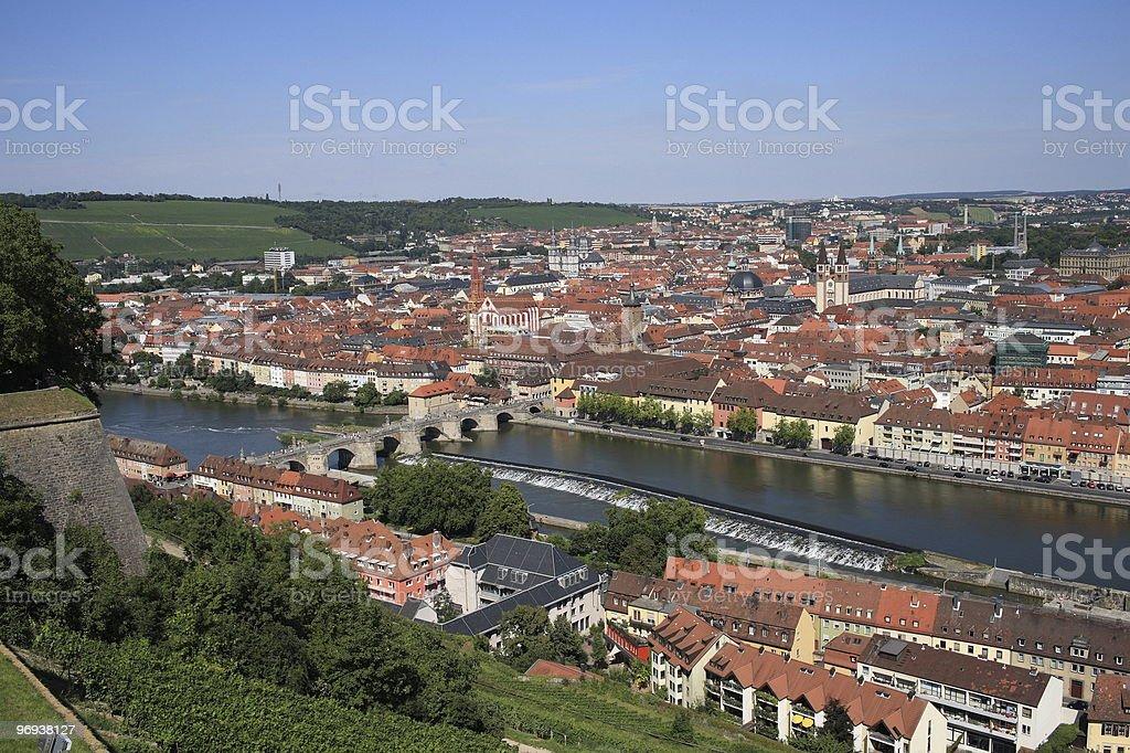Würzburg. Germany. Europe. royalty-free stock photo