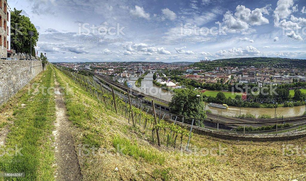 Würzburg royalty-free stock photo