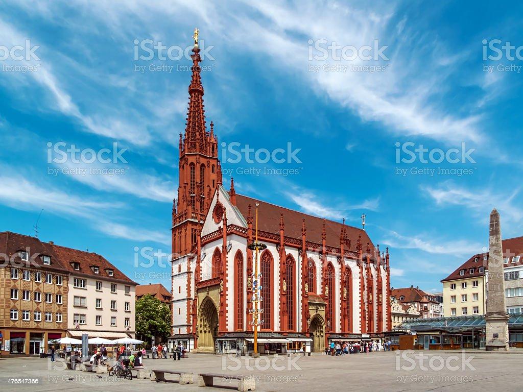 Würzburg stock photo