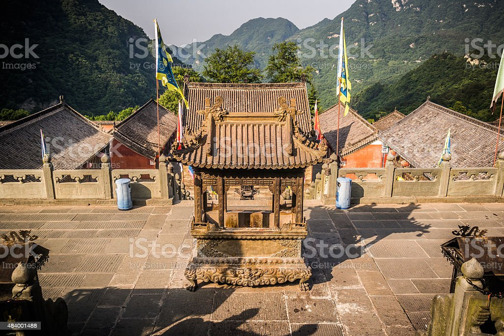 Wudangshan stock photo