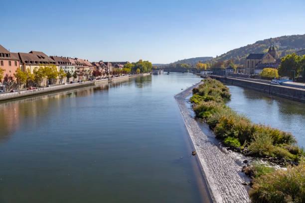 Wuerzburg in Franconia stock photo