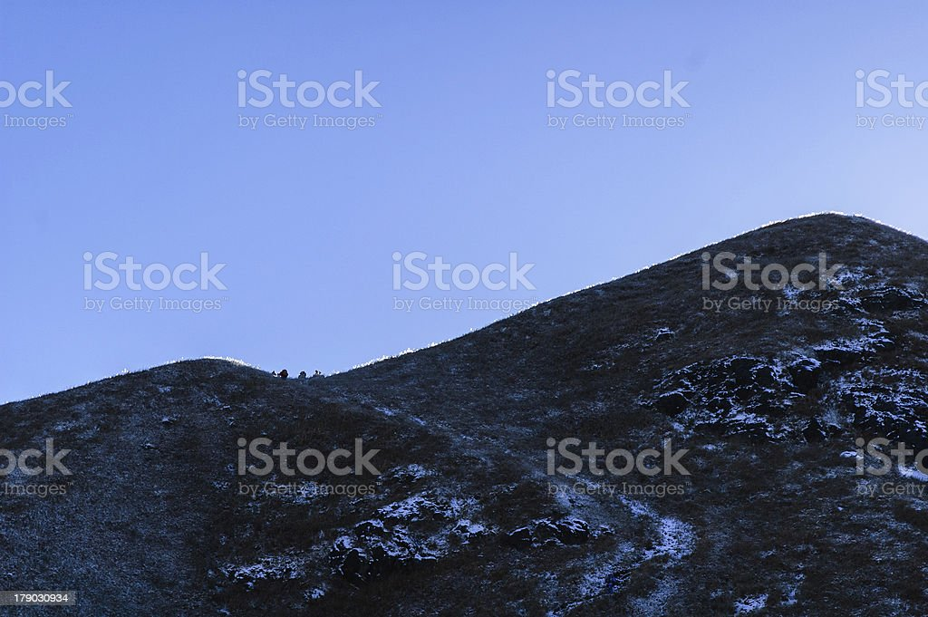 wugong mountains stock photo