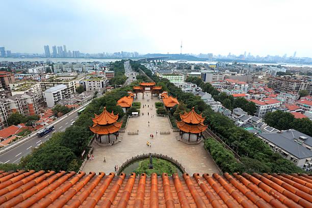 wuhan city, China – Foto