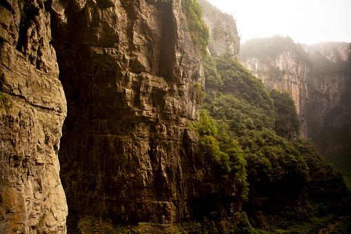 Wulong karst formations in China.
