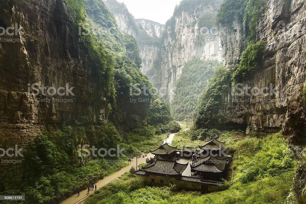 Wulong National Park, Chongqing, China royalty-free stock photo