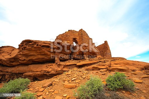 Wupatki National Monument in Arizona-USA