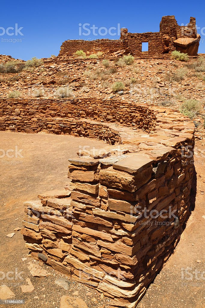 Wupatki National Monument royalty-free stock photo