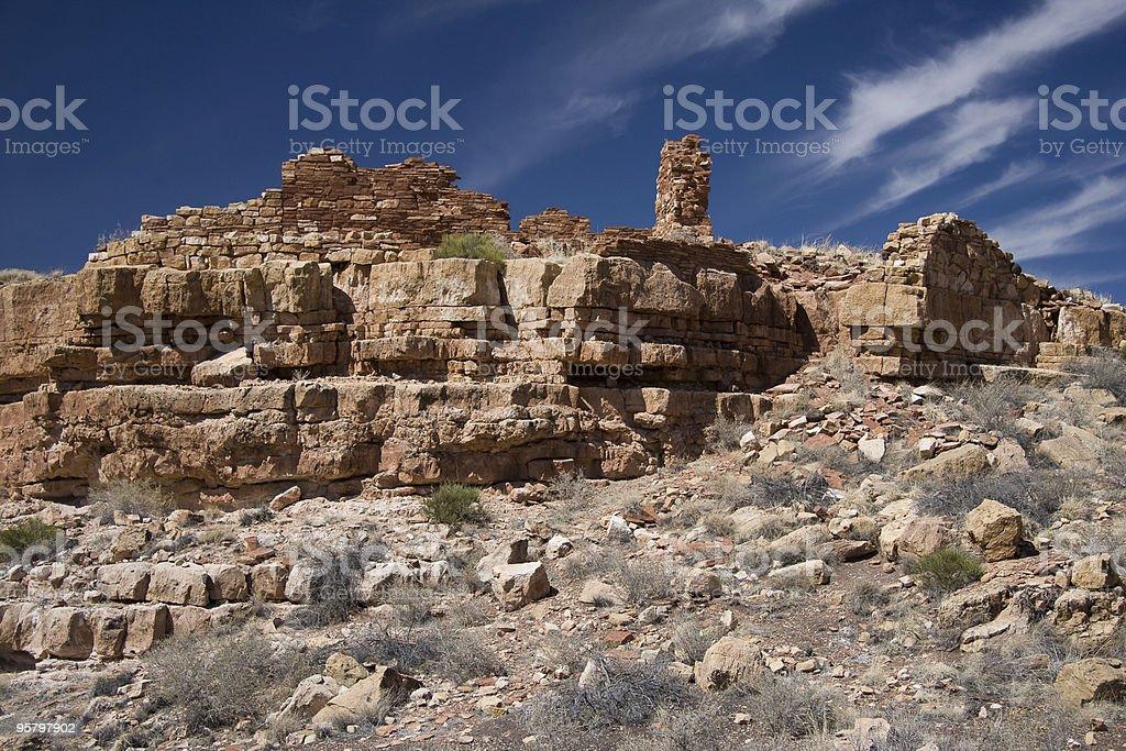 Wupatki National Monument royalty-free stock photo