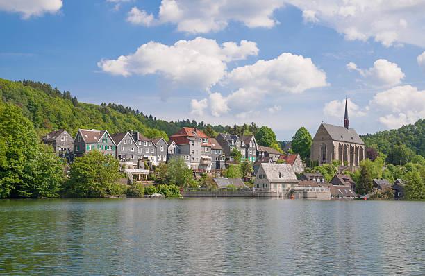 Wupper River Reservoir, Wuppertal, Deutschland – Foto