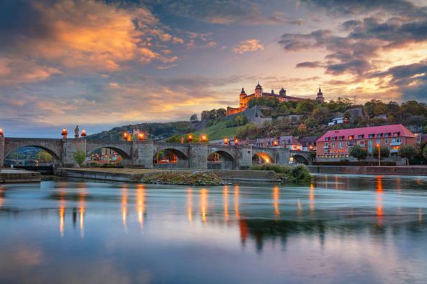Wurzburg, Germany. stock photo