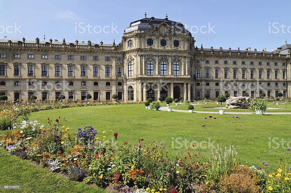Wurzburg Residenz royalty-free stock photo