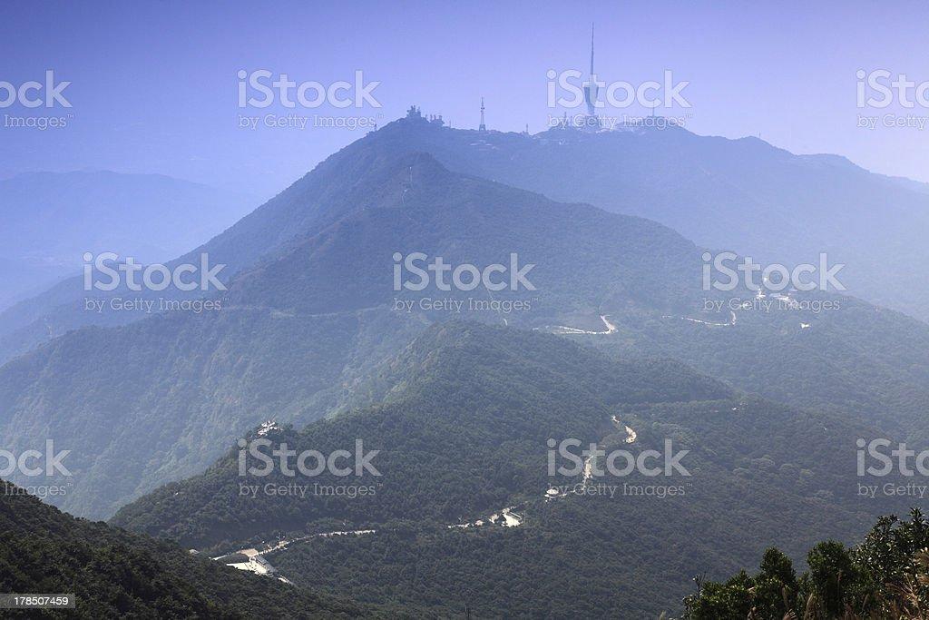 Wutong Mountain scenery stock photo
