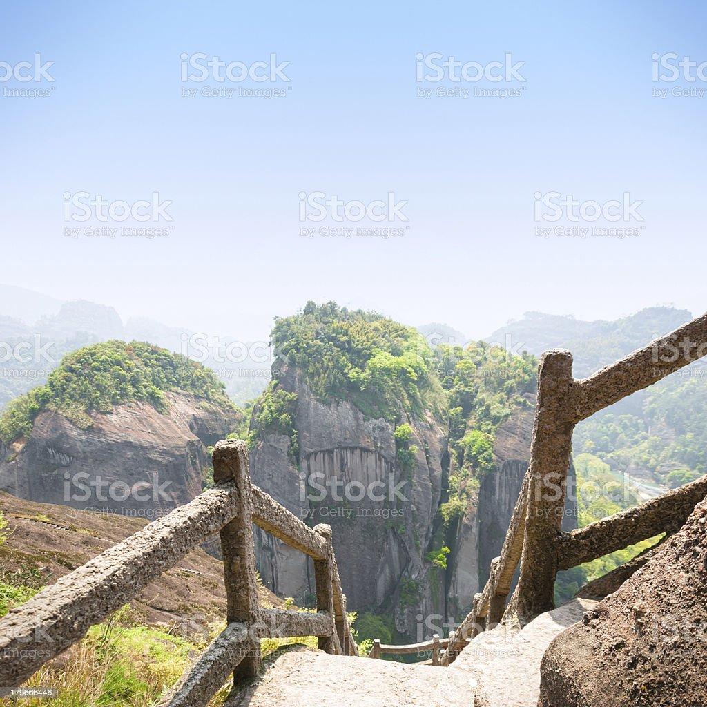 Wuyi Mountains royalty-free stock photo