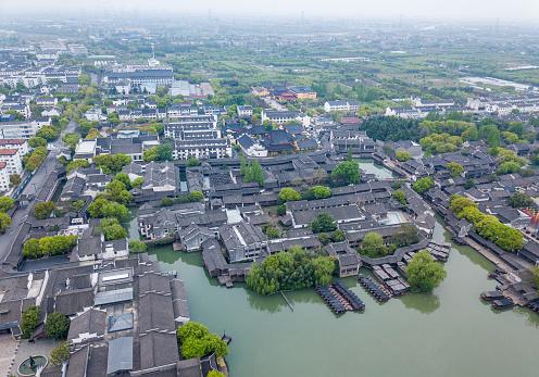 Wuzhen is a famous town in Zhejiang Province, China.
